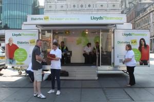 Lloyds Pharmacy Diabetes Plus Roadshow hits Liverpool