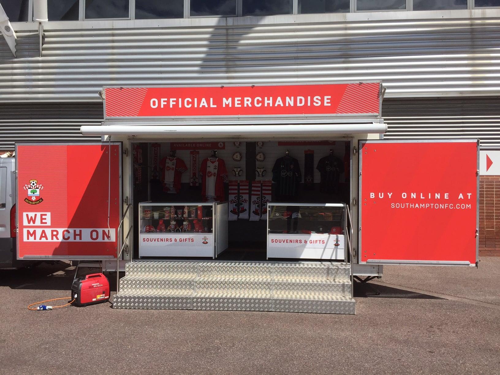 merchandising trailer hire