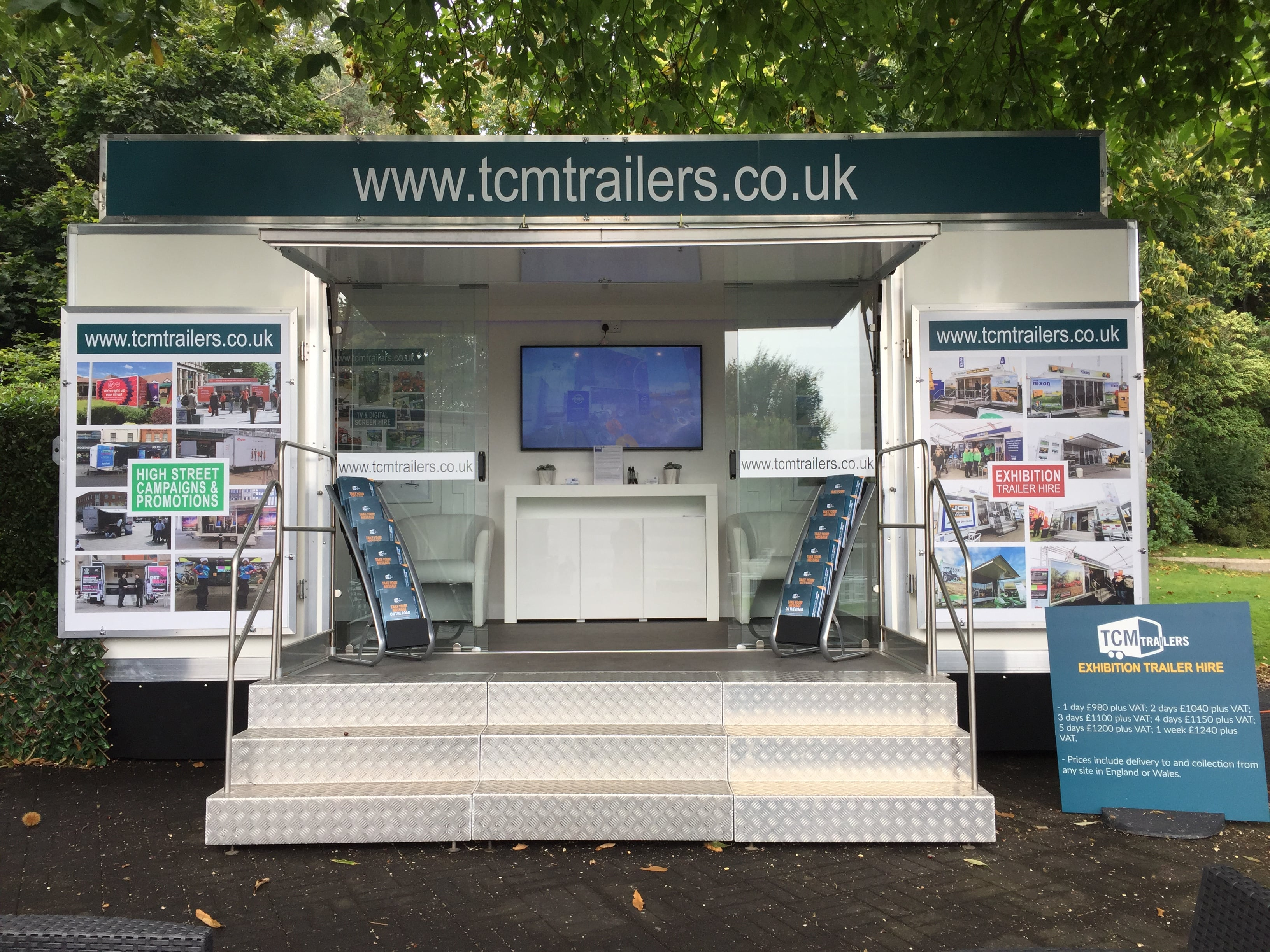new exhibition trailers