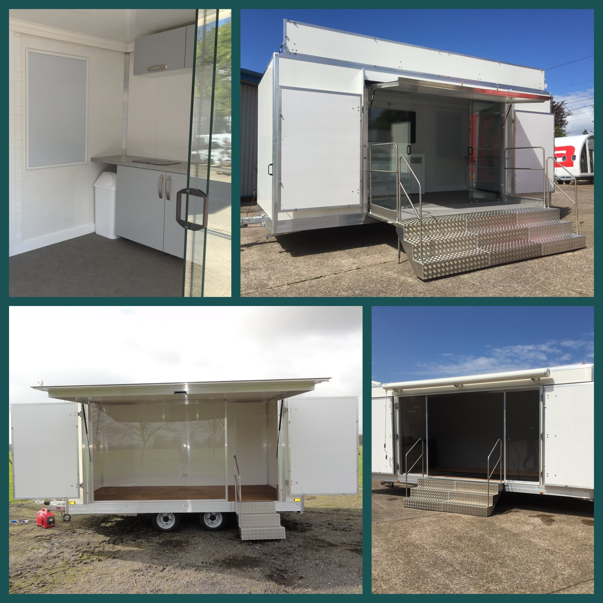 exhibition trailers for sale