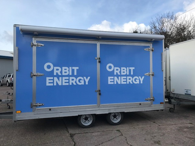 Orbit trailer