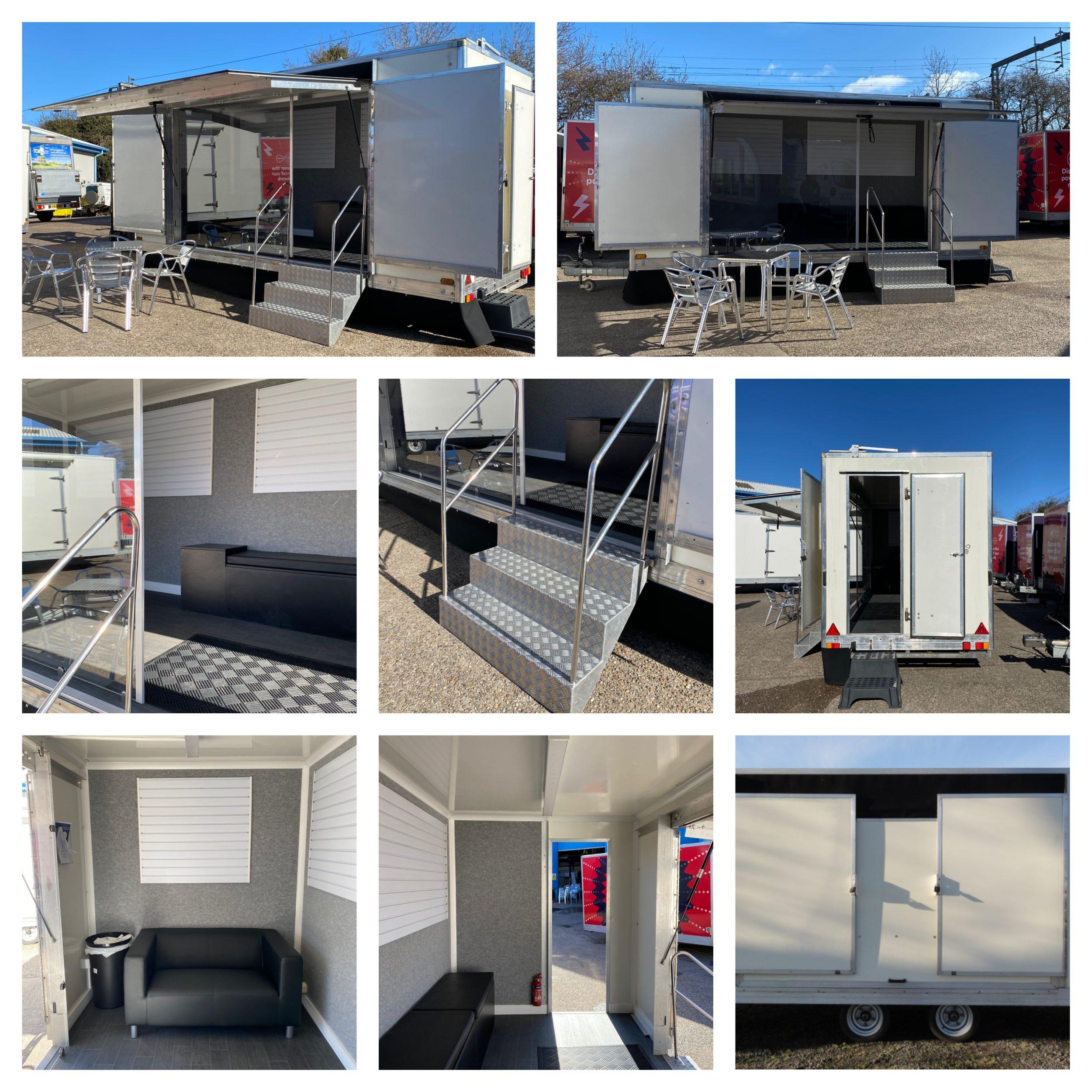 5m exhibition trailer
